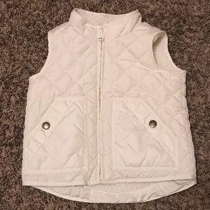 EUC Baby Gap Sherpa vest size 3